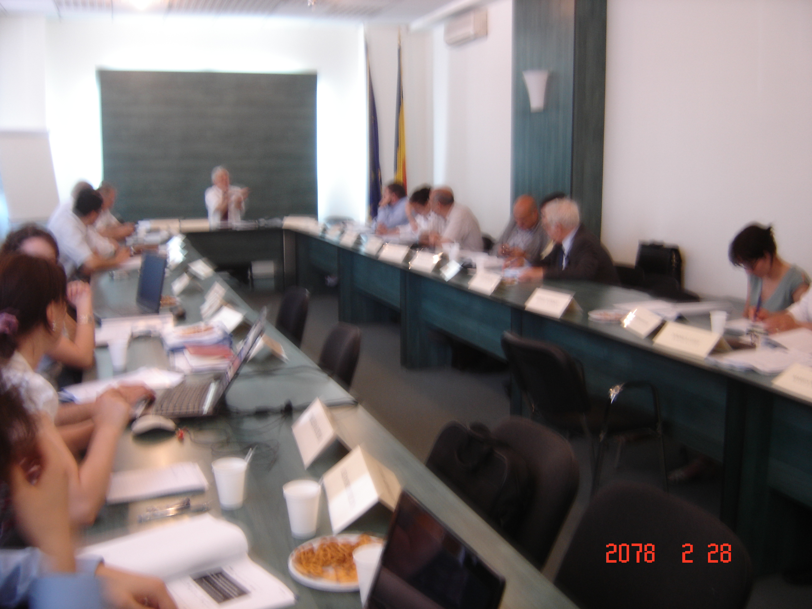 The meeting of the Project Coordination Committee