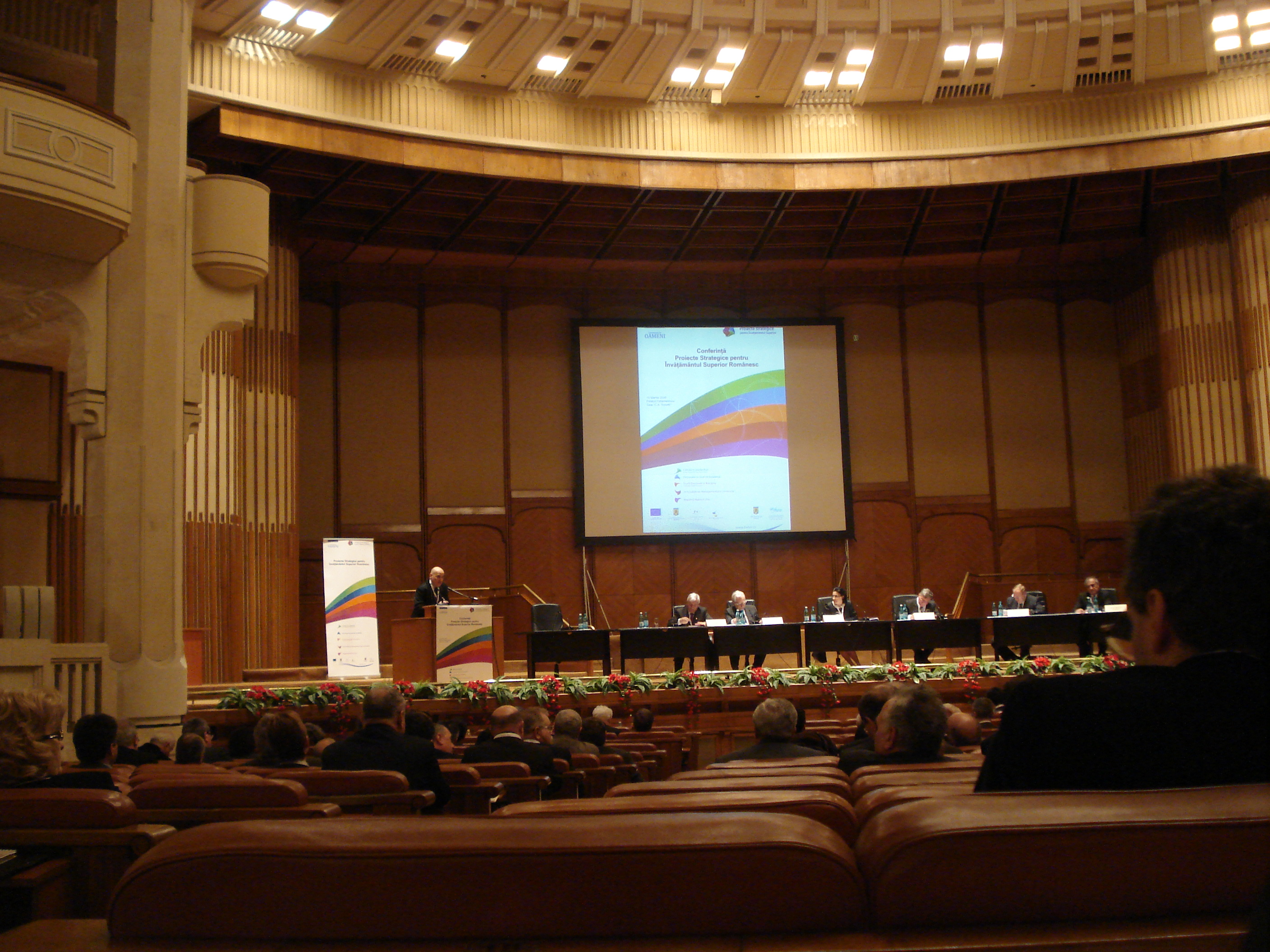 Conference on Stategic Projects for Romanian Higher Education