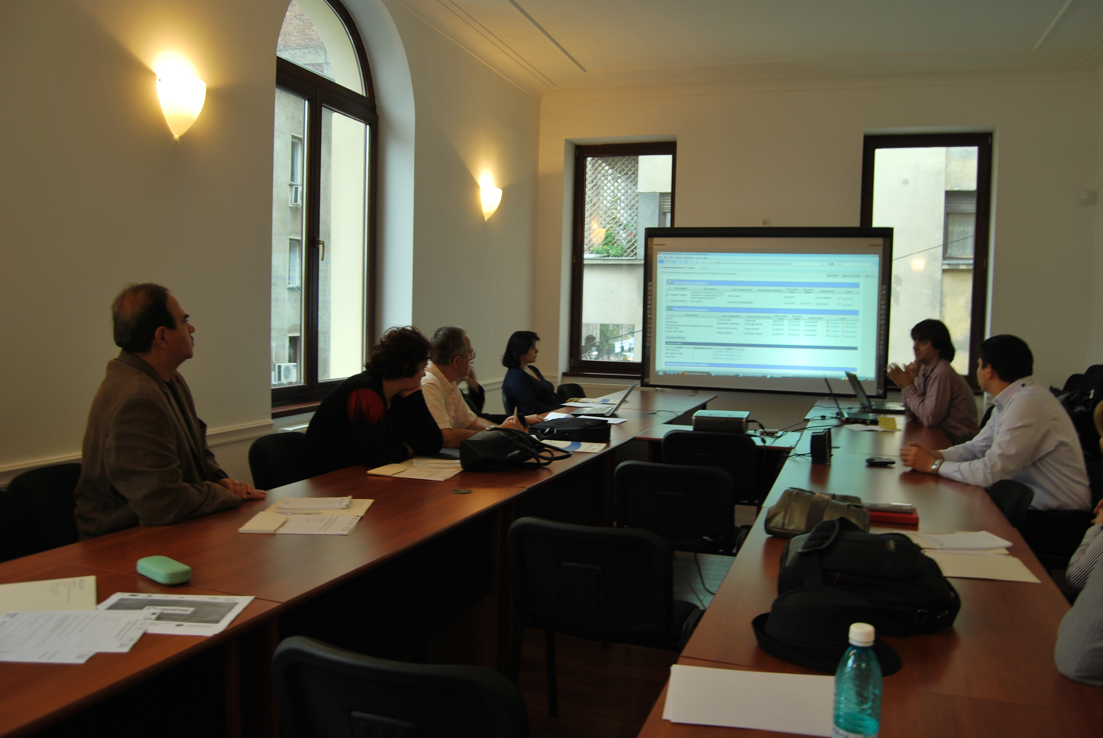 Training editorial 6, Bucuresti